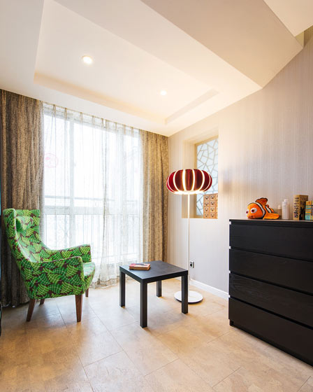 280平现代简约休息室效果图设计