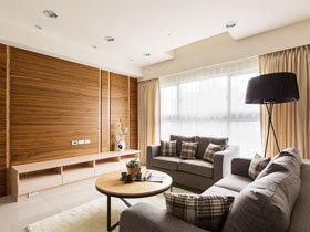 暖暖北欧风格装修 118平治愈系居宅