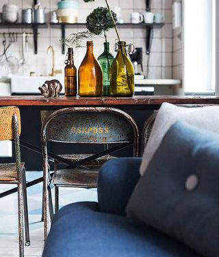 55平米北欧瑞典公寓餐厅设计效果图