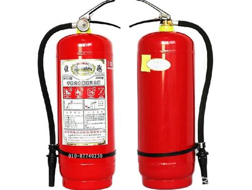 防火必备设施 水基型灭火器标准