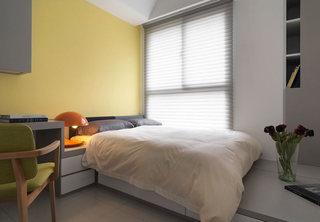 210平现代简约暖黄色卧室装饰效果图