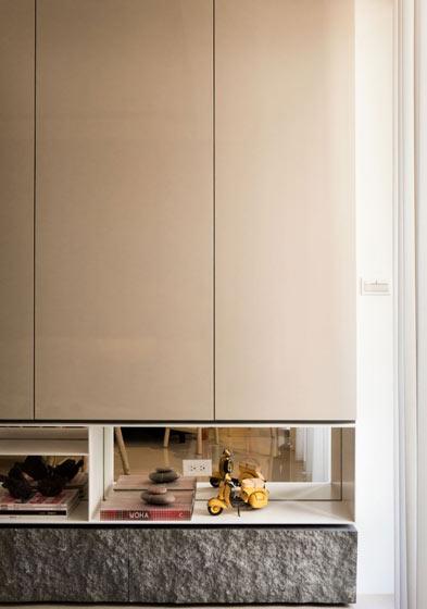 120平米自然简约电视柜装饰设计