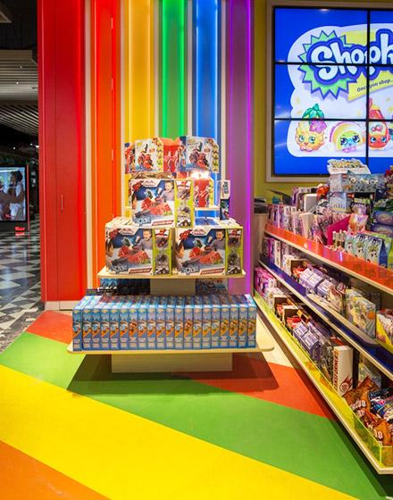 可爱儿童玩具店设计装修
