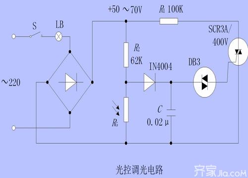 电子元件光敏电阻的工作原理