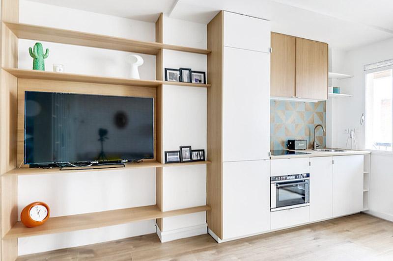 27平米超小户型开放式厨房装修图片