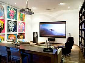 挂出来的思想 10款客厅照片墙设计实景图