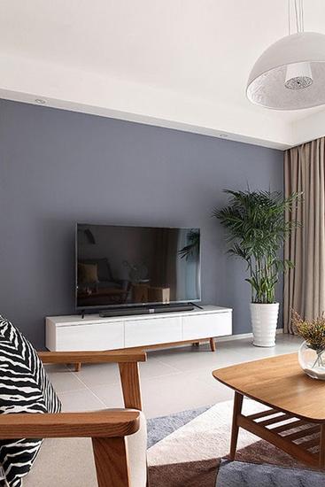 简约现代风电视背景墙装饰效果图