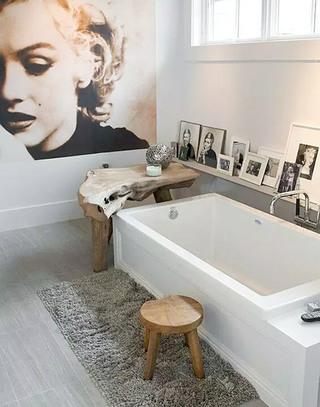 卫生间浴缸效果图装修设计