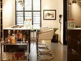 廚房的休閑一角 10圖多工能吧臺設計參考圖