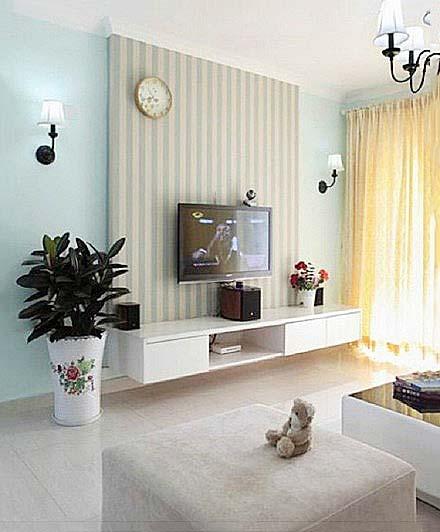电视背景墙装修装饰效果图