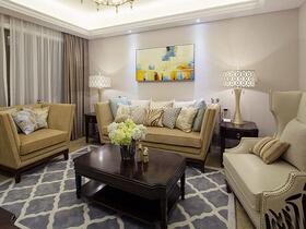 130平欧式风格三居室装修 感受空间的魅力