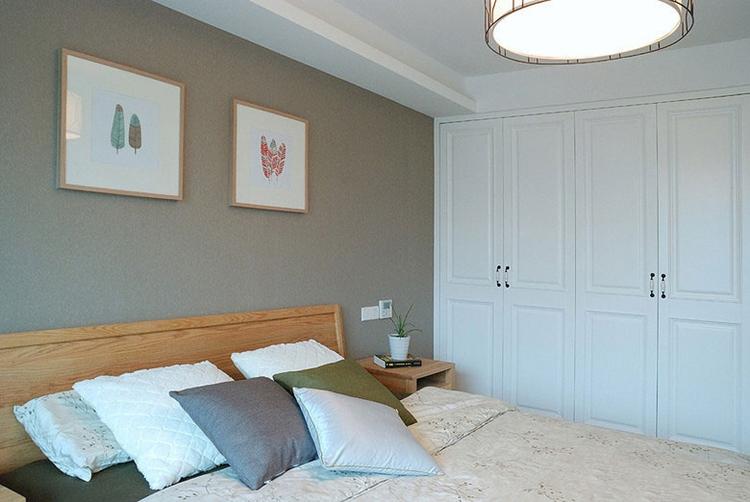 宜家北欧风格卧室背景墙设计