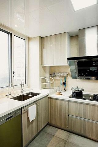 120平现代简约三室厨房设计