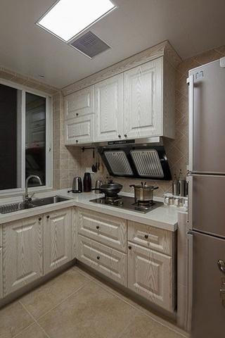 时尚现代美式厨房橱柜效果图