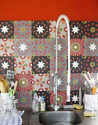 厨房花瓷砖装修设计
