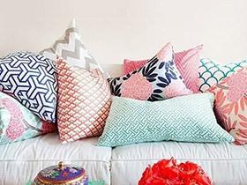 11个客厅沙发抱枕图片 美颜沙发必备