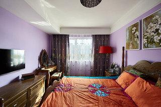 100平两室混搭风格装修卧室效果图