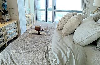 90平两室欧式风格装修卧室效果图