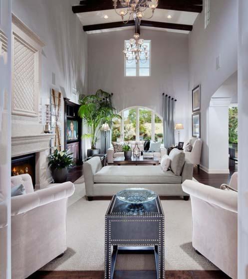 现代风格客厅设计平面图