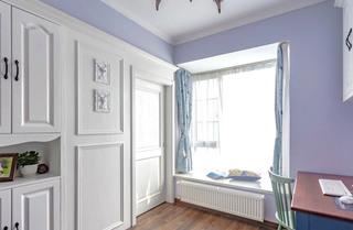 119平米美式风格主卧室整体衣柜设计