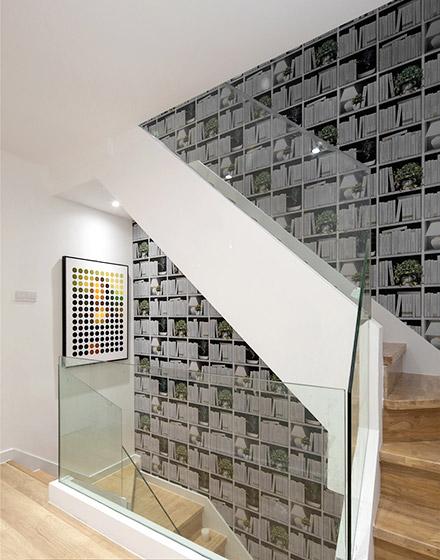 200平米简约风格楼梯装修图