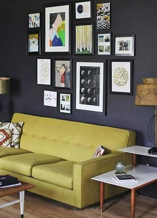 客厅照片墙参考图片大全