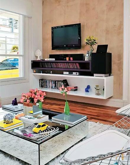 木质电视背景墙装修