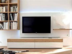12个客厅电视柜效果图 小客厅告别凌乱
