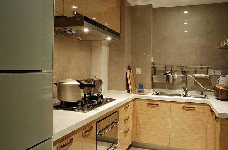 89平简约风装修厨房效果图