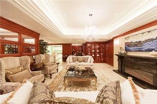 170平大户型装修设计客厅效果图