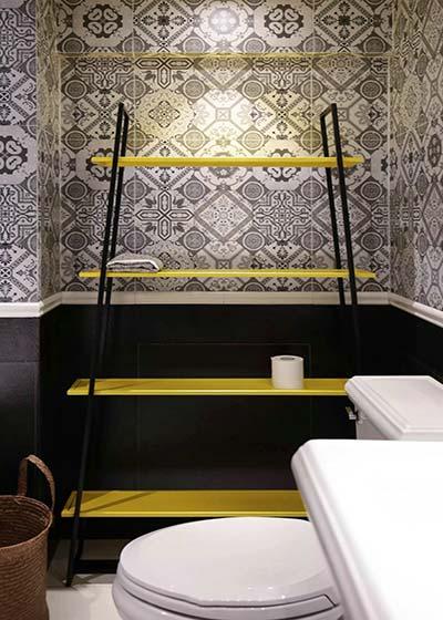 混搭卫生间设计布置效果图