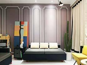 130㎡两居室公寓装修效果图 中西结合有疗效