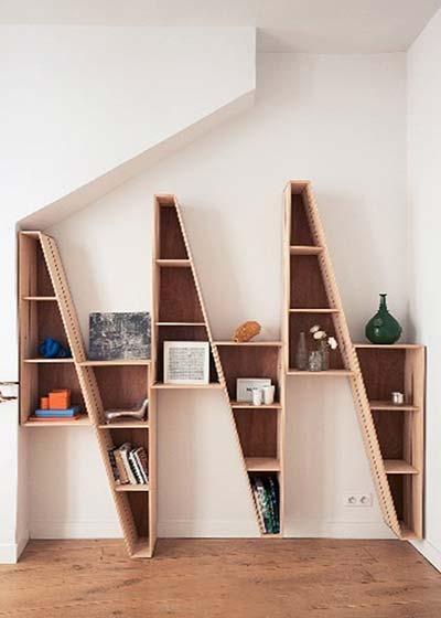 另类书房书架图片