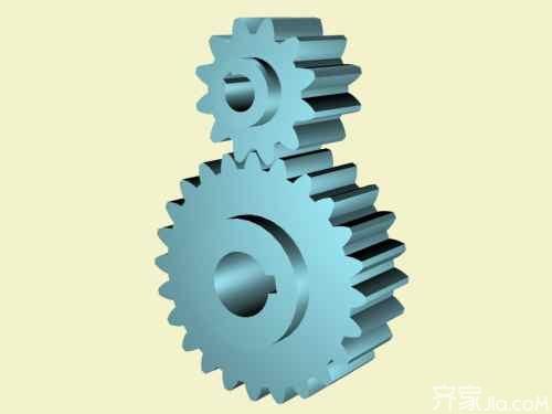 齿轮传动工作原理 齿轮传动设计准则图片