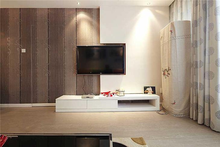 简约风装修电视背景墙图片