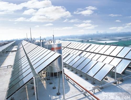 """平板太阳能热水器——""""暖男""""的工作原理"""