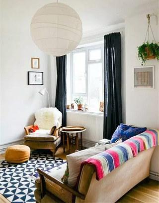 12个小户型客厅装修图 有限空间无限放大1/12