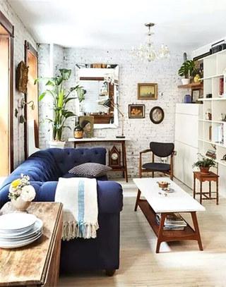 12个小户型客厅装修图 有限空间无限放大2/12