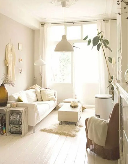 温馨小户型客厅装修设计图