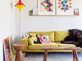 12个小户型客厅装修图 有限空间无限放大