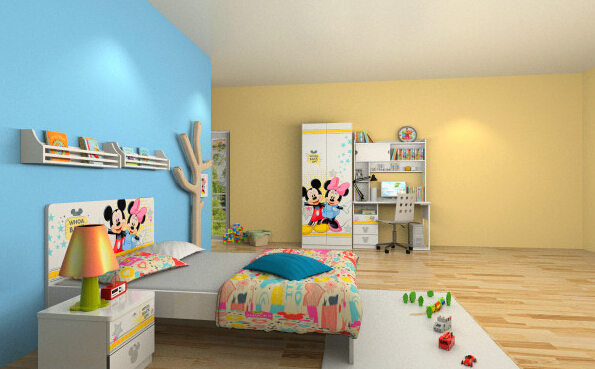 儿童房用涂料还是墙纸环保?