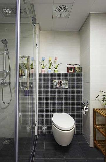 三室两厅美式乡村装修卫生间效果图
