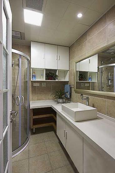 时尚现代简约风洗手间效果图