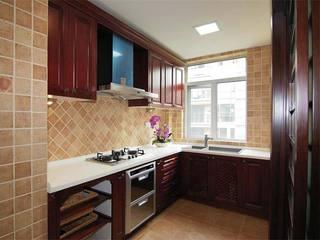 中式厨房装修图片大全