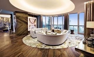 奢华大气后现代客厅装潢欣赏