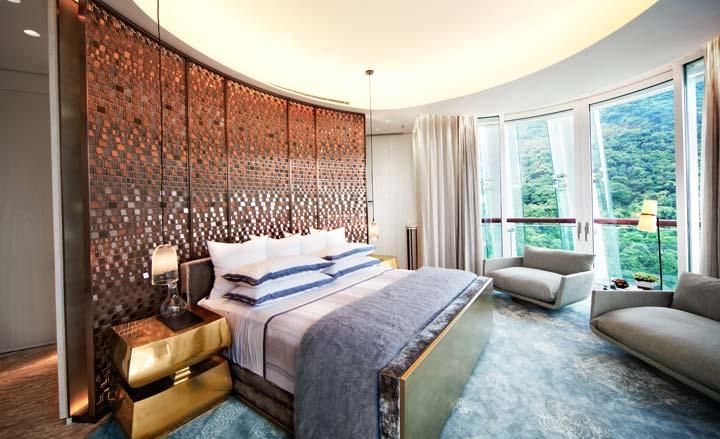 现代卧室参考图片