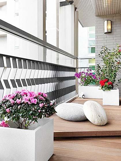 景观阳台构造设计图
