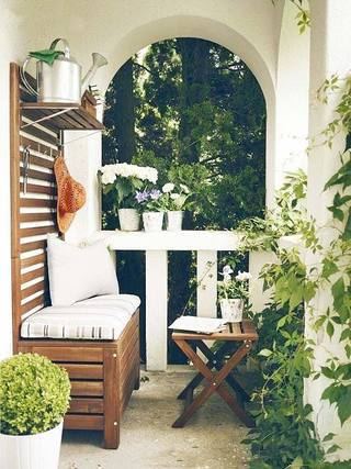 景观阳台设计装修装饰图片