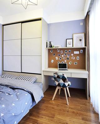 85平北欧现代两居室次卧室装修图片大全