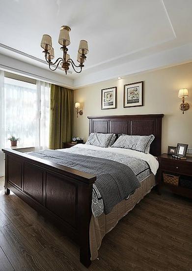 130平低调简欧风格装修简欧卧室